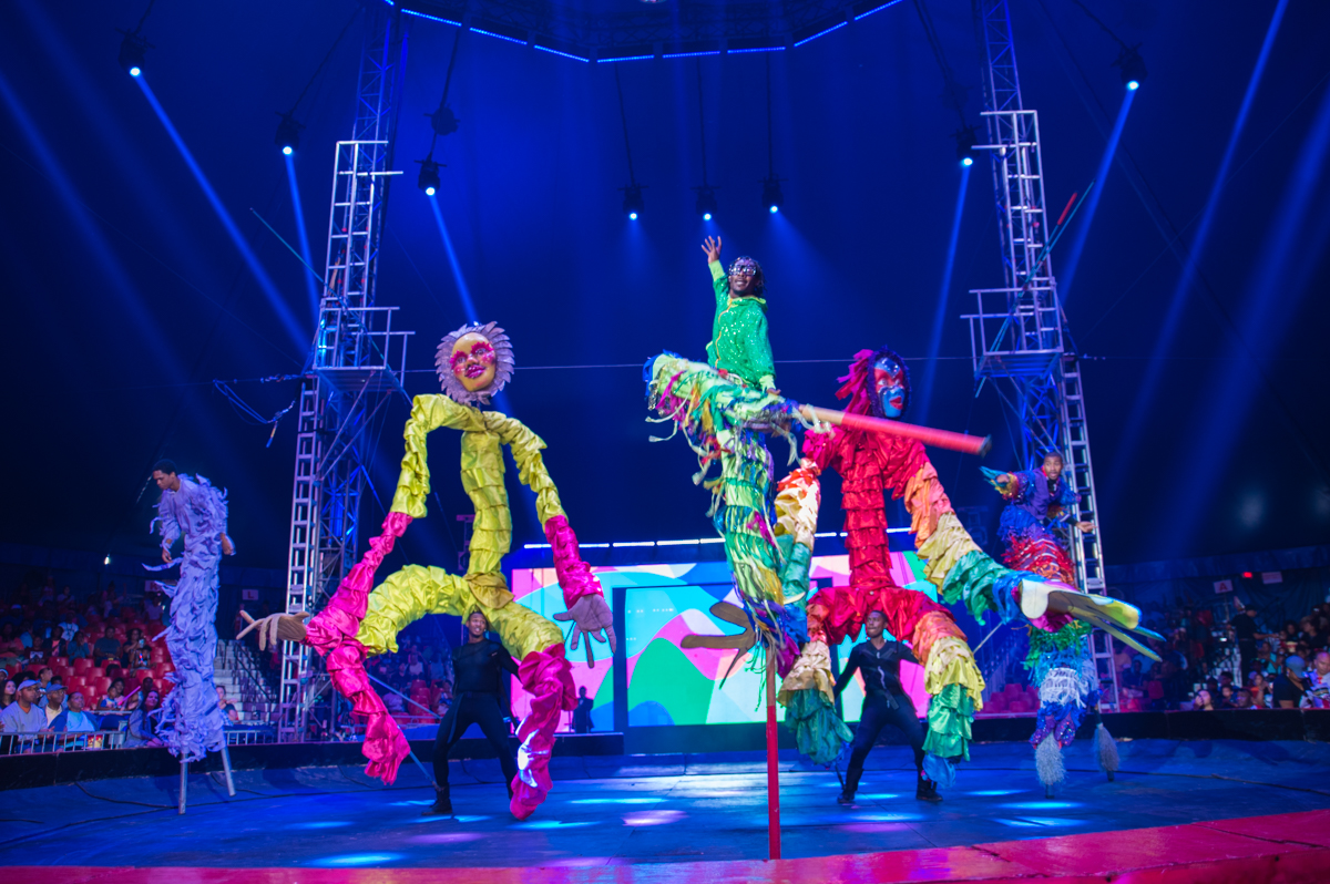 "The Universoul Circus' ""We Are ONE 25th Anniversary Tour"" is a show that spans the globe. Its mission is to inspire with multicultural performances and a message of unity. The stunning acrobatics don't hurt either! Performances run through September 3. ADDRESS: 2250 E. Seymour Avenue (45212) / Image: Sherry Lachelle Photography // Published: 8.28.18"
