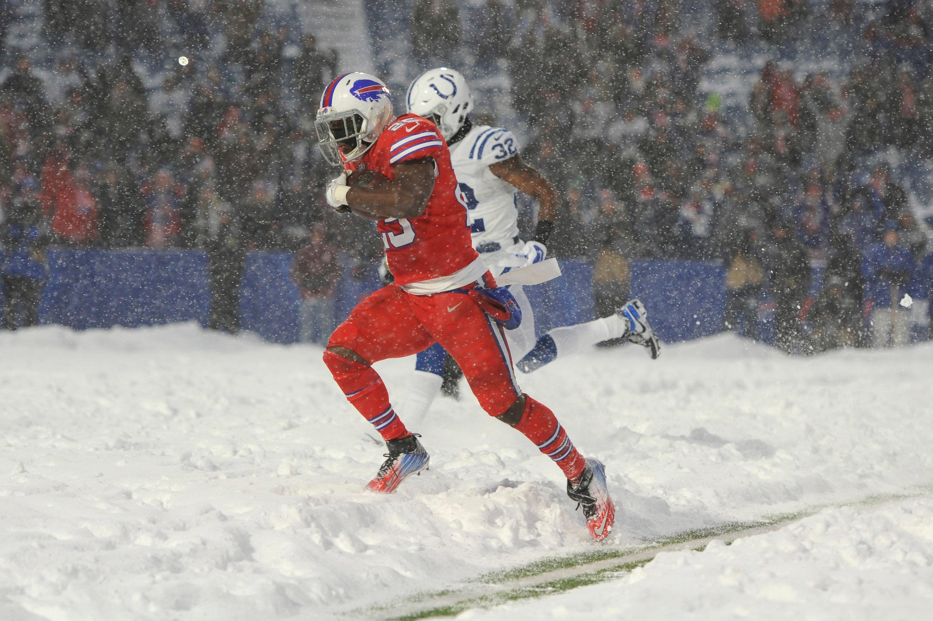 Bills beat Colts in blizzard bowl