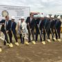 Groundbreaking held for new center at Independence High School