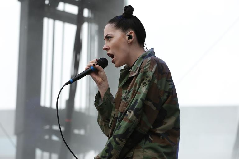 Bishop Briggs at the All Things Go Fall Classic in 2016. (Amanda Andrade-Rhoades/DC Refined)