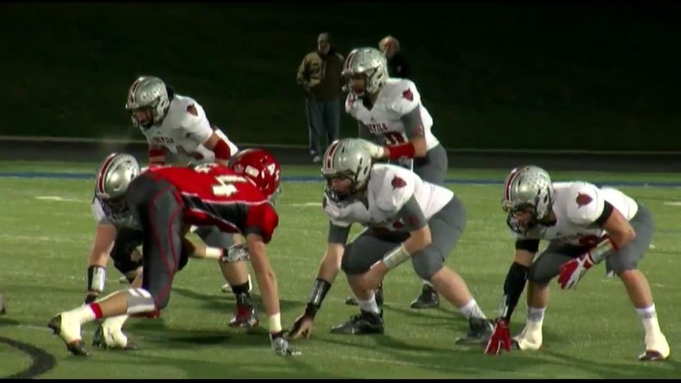 11.14.15- High School Football- St.Clairsville falls in tight game as season ends