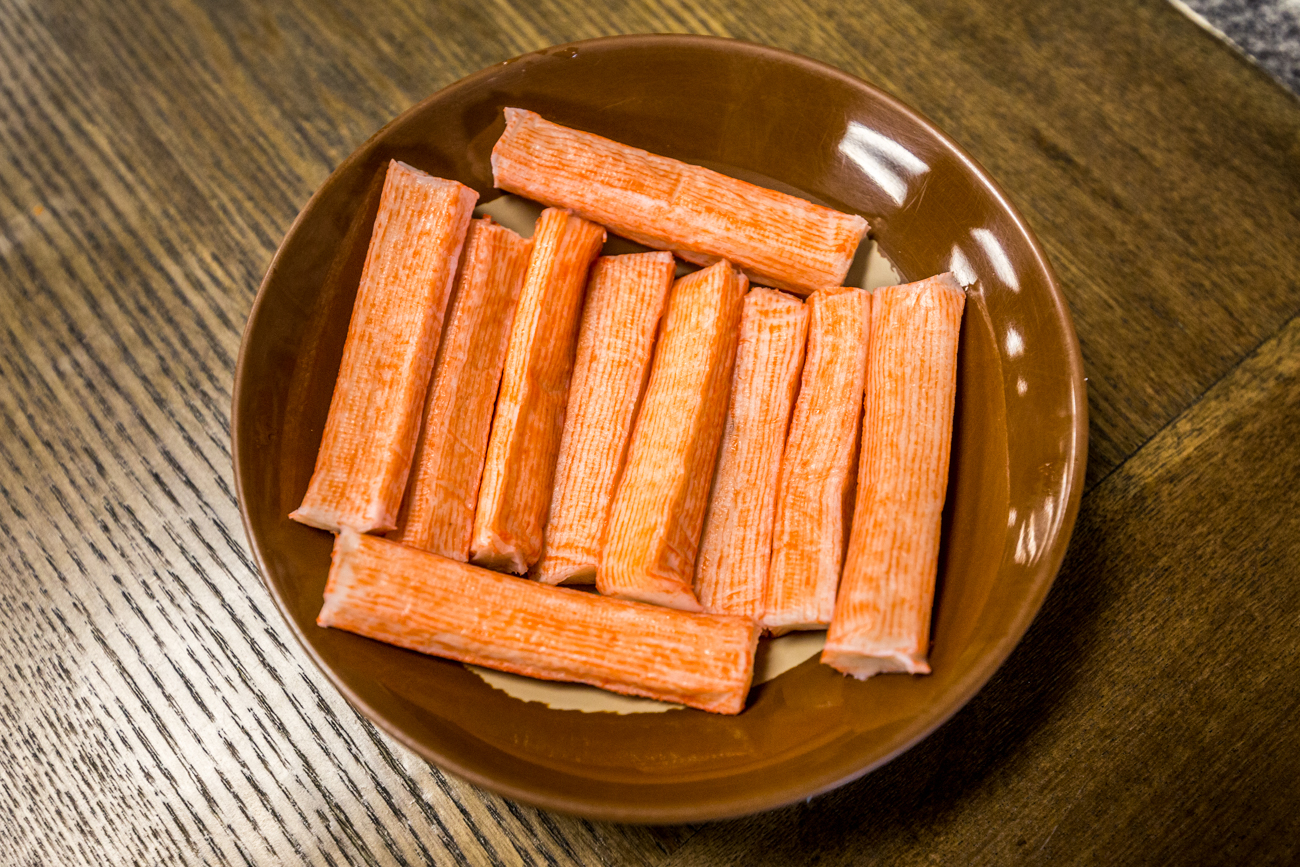 Crab stick / Image: Catherine Viox{ }// Published: 8.26.19