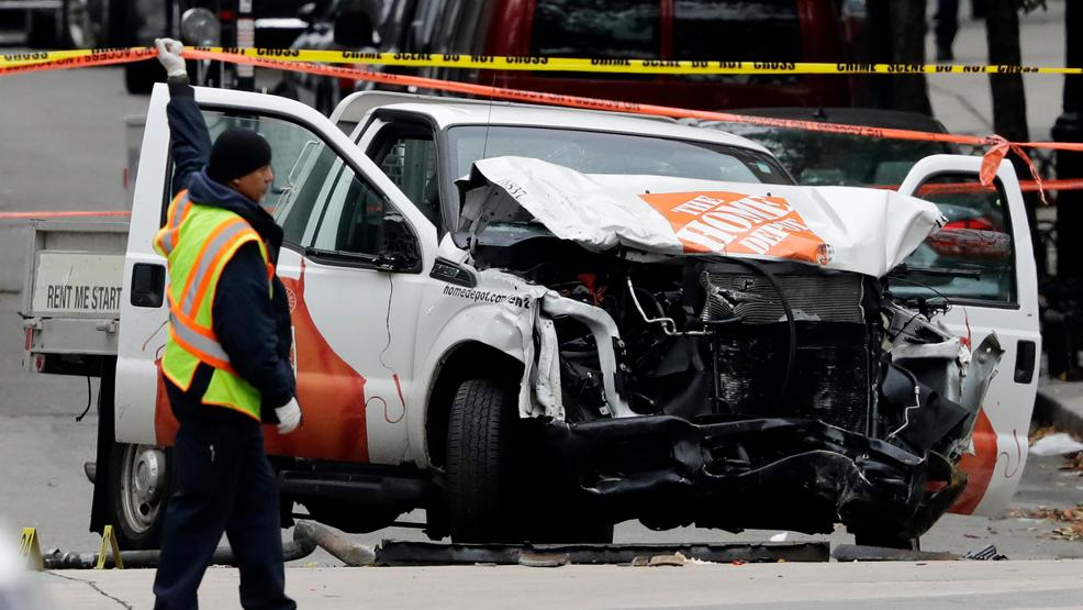 NYC bike path jihadi killer truck smashed AP09.jpg