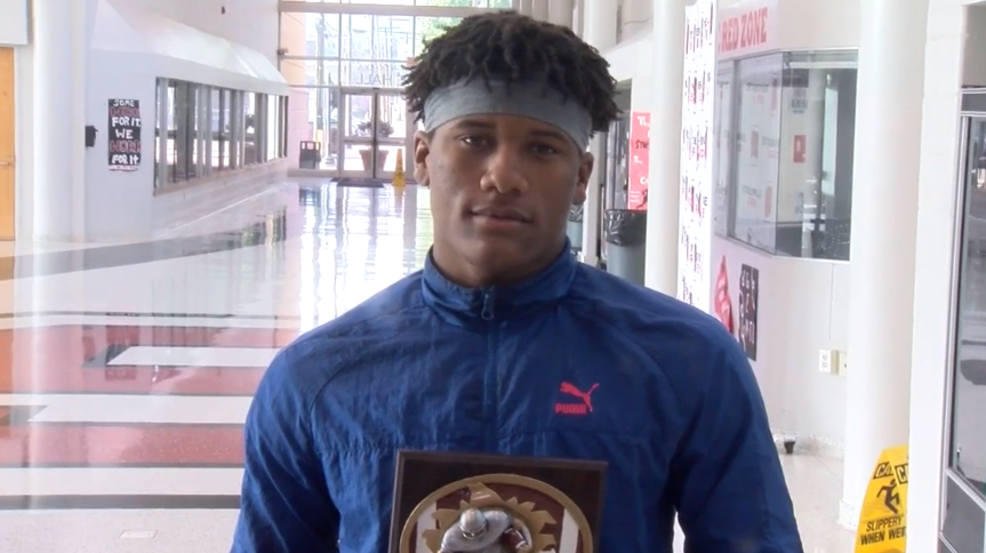 10.9.19 Player of the Week: Tayveon Crawford, Steubenville Big Red