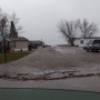 Flooding prompted evacuation of Bay City mobile home park