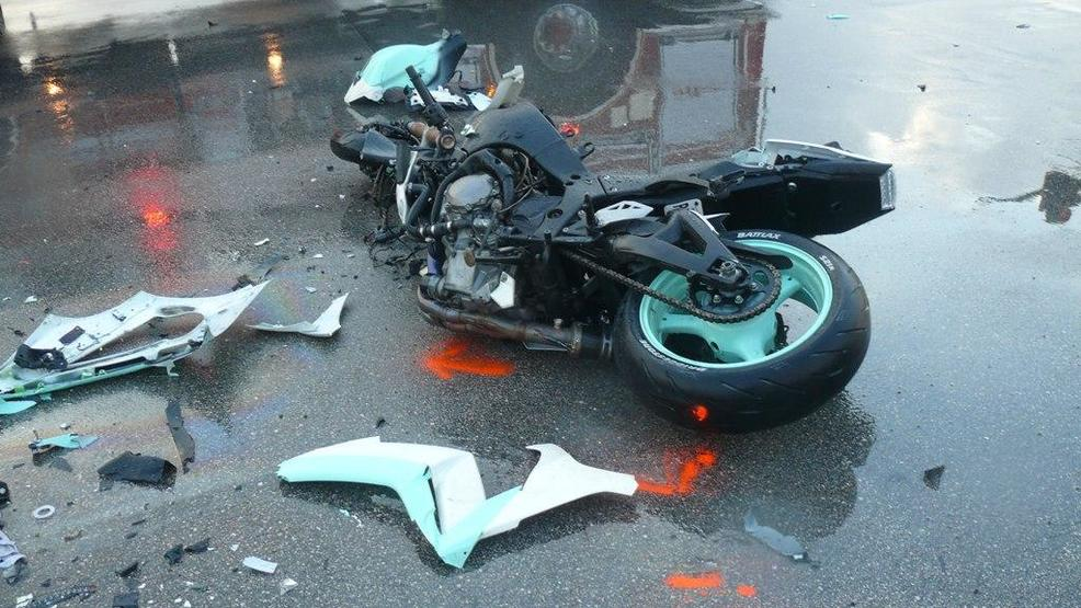 Police investigate fatal motorcycle involved crash wpec for Port motors west palm beach