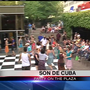 EUGfun! Dozens feel the heat through salsa, Latin jazz dance at Hult Center Plaza
