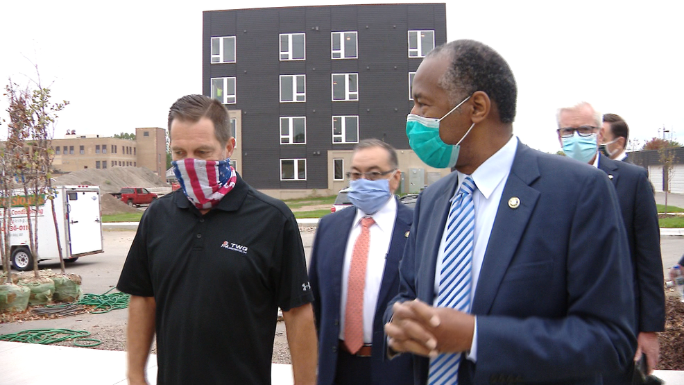 Housing secretary Ben Carson discusses affordable housing in Green Bay