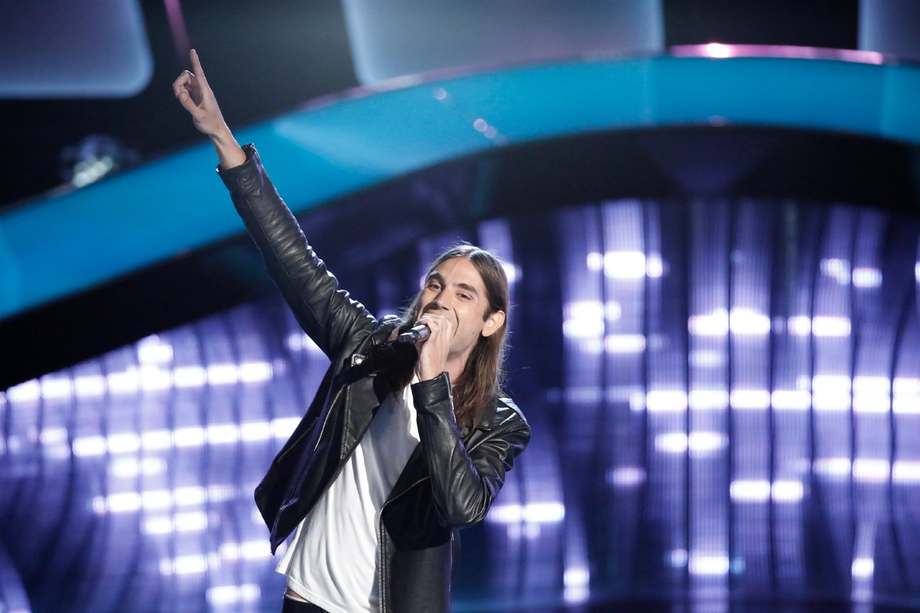 "THE VOICE -- ""Blind Auditions"" -- Pictured: Johnny Gates -- (Photo by: Tyler Golden/NBC)"