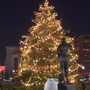High spirits at Baltimore's annual City Hall tree lighting