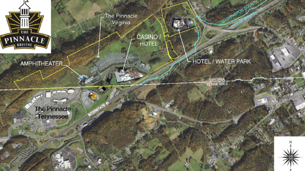 Cherokee Pinnacle Casino proposal includes golf venue, water park, and mountain coaster