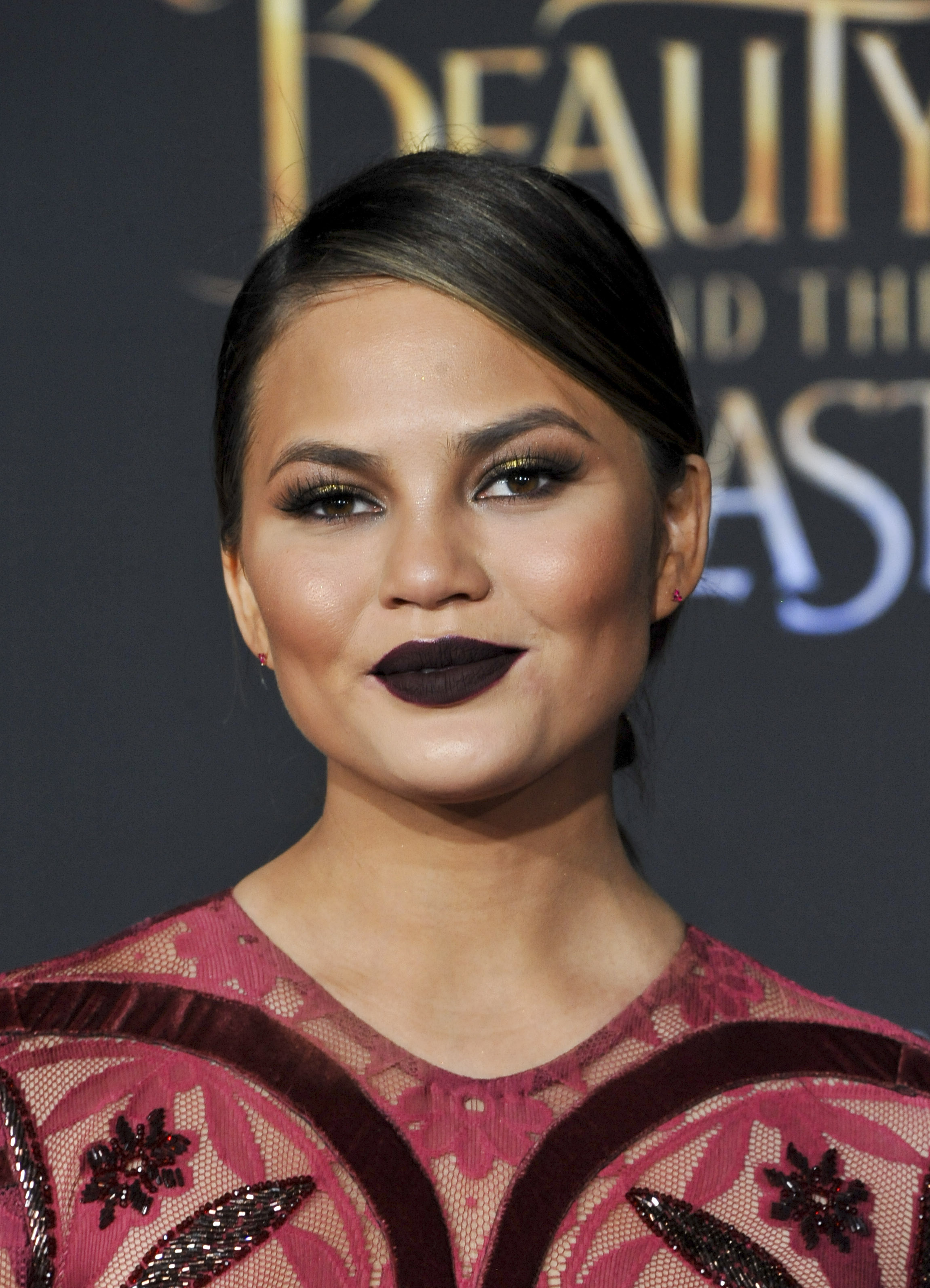 Film Premiere Beauty and The Beast  Featuring: Chrissy Teigen  Where: Los Angeles, California, United States  When: 03 Mar 2017 Credit: Apega/WENN.com