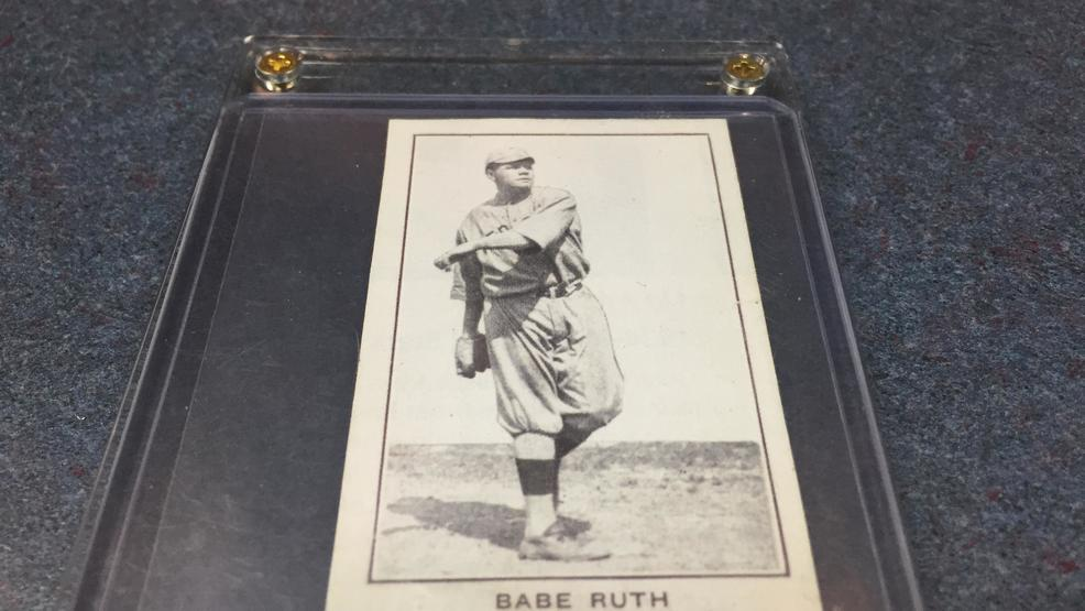 7 Visalia Man Believes His 2 Babe Ruth Baseball Card Is Worth Millions
