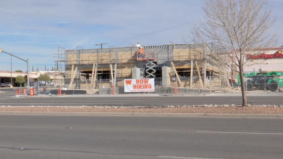 Village Inn Going Up Along Mesa Street In West El Paso Kfox