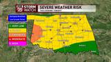 A severe and stormy Sunday is on the way