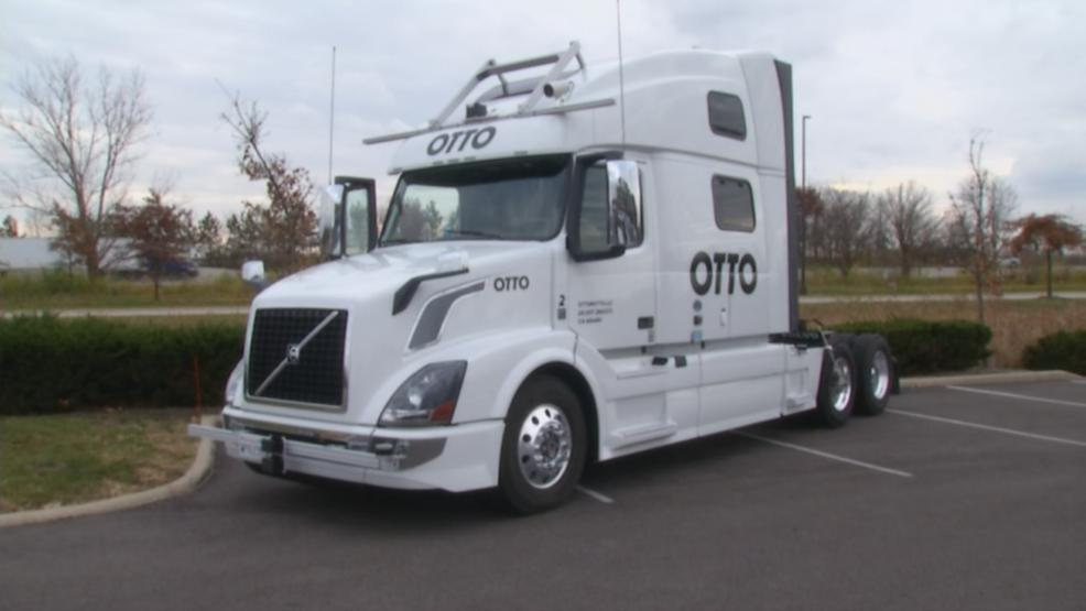 Driverless trucks are hitting the road on U.S. 33. Governor John Kasich and other state officials unveiled plans to create a testing route from Dublin to East Liberty. (WSYX/WTTE)