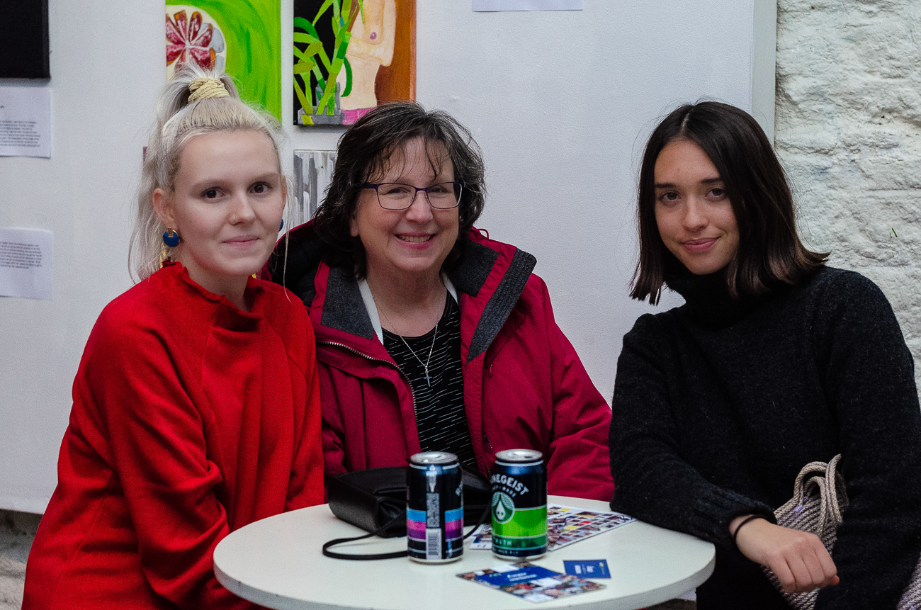 Lindsey Zinno, Sue Knight, and Samantha Knight / Image: Kellie Coleman // Published: 1.20.19