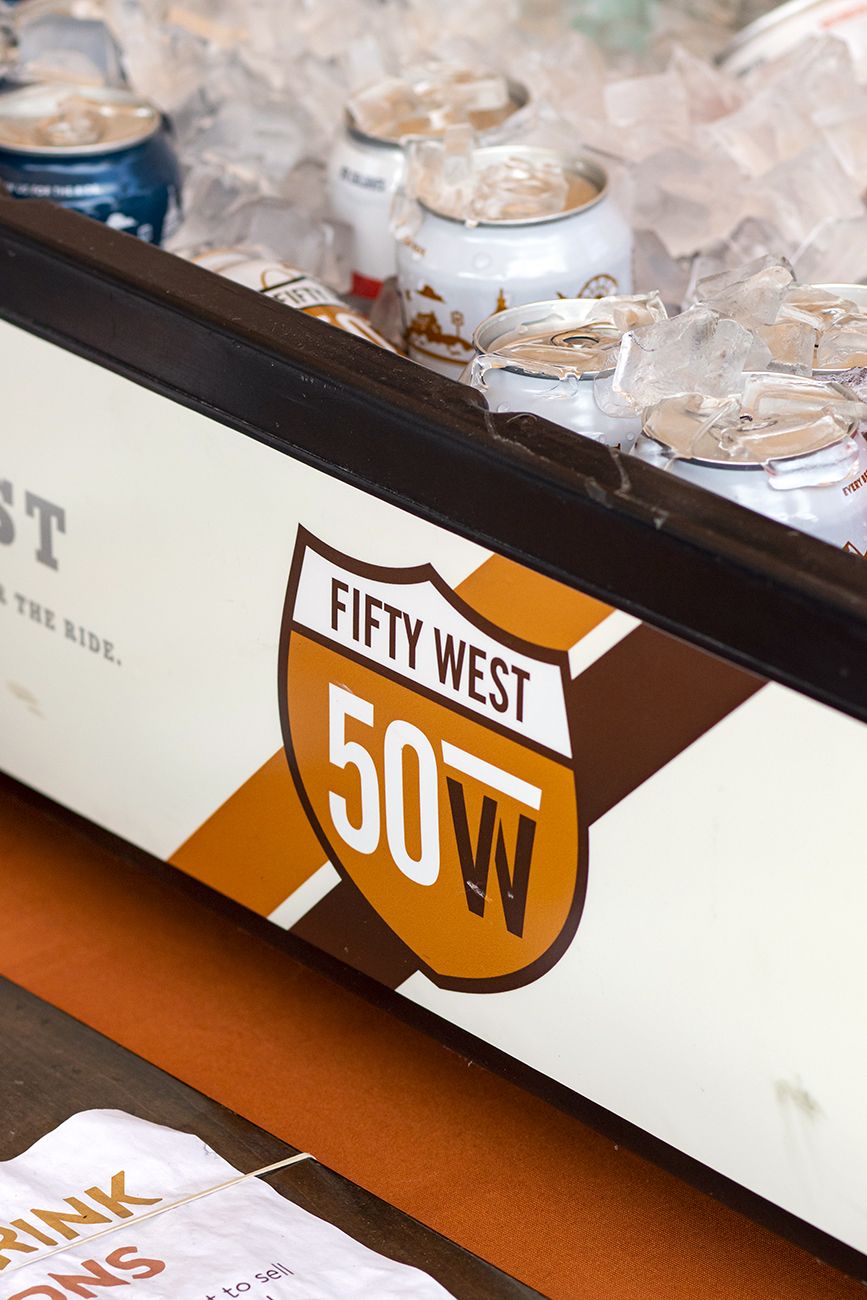 Resembling a 1950s roadside root beer stand, the 50 West Burger Bar is the newest addition to Fifty West Brewing Company's campus. Each burger starts with a protein (single, double, Beyond Burger, chicken, or beef hot dog) before toppings are added to create 12 different styles named after 12 states. The Burger Bar also does shakes, house-made sodas and floats, and serves Fifty West beer. ADDRESS: 7605 Wooster Pike (45227) / Image: Allison McAdams // Published: 5.25.20