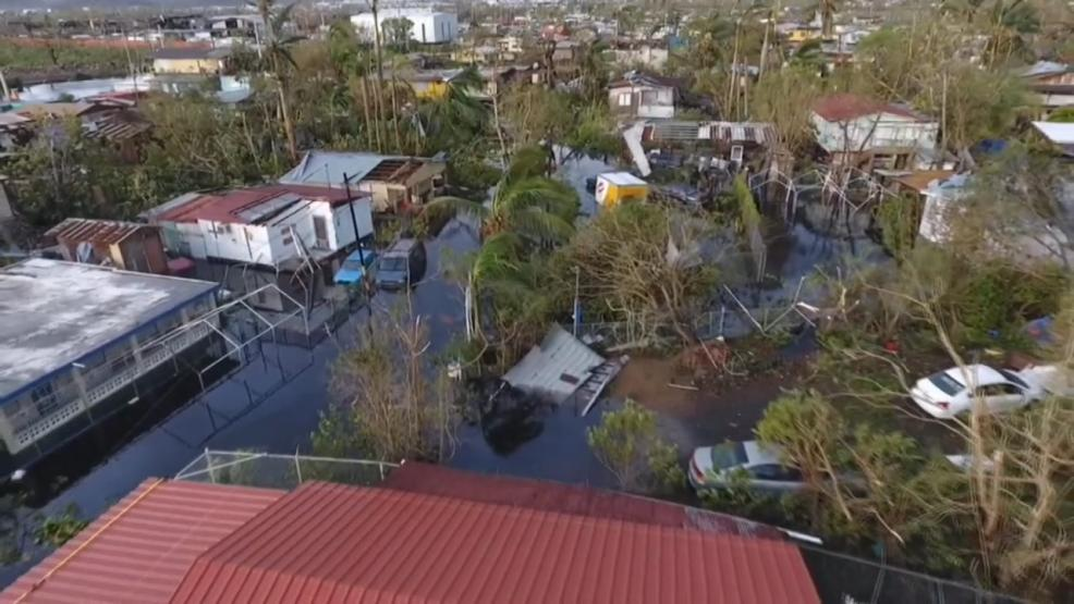 The Puerto Rican Student Association at Ohio State University is organizing a collection drive to help victims of back to back hurricanes that slammed the U.S. territory. (Courtesy: CNN Newsource)