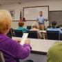 Rep. Turner talks schools, partisan divide at south Asheville town hall