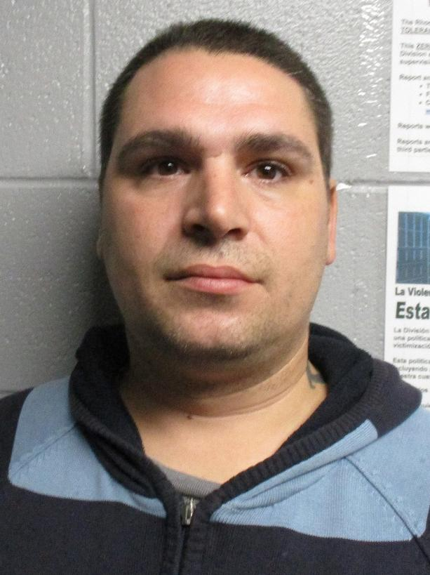 Randy Lempitsky, 36, of 10 Spruce Ave., Cranston, owes $65,635.37. (Police photo)