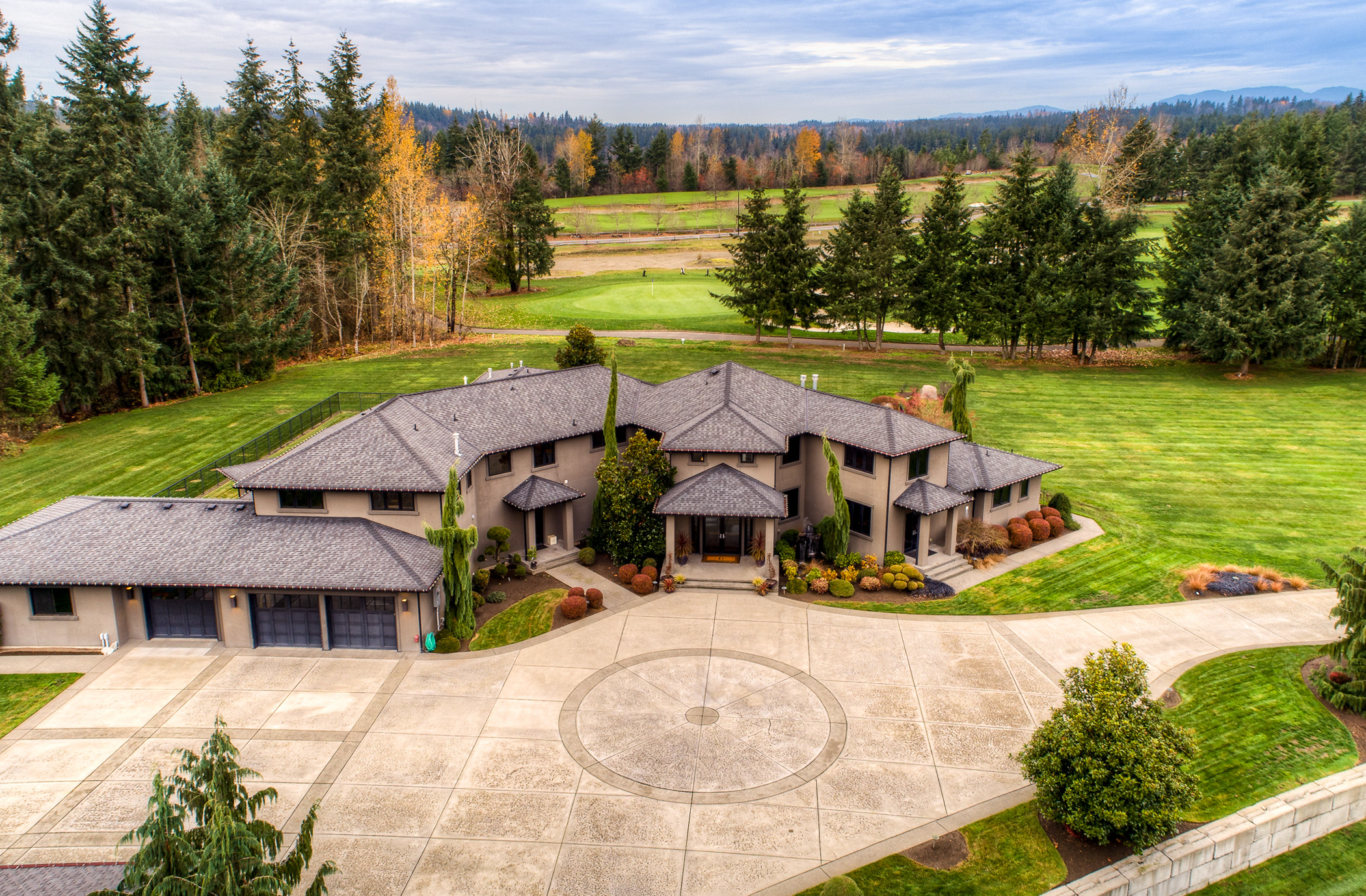 "Golf fans, what do you think about NO commute to the course?? This beautiful home sits on 3.32 acres bordering the 4th fairway of the Washington National Golf course. At 6,600 square feet with 4 beds, 5.25 baths - this home is listed for $2,145,000. No expense was spared with top of the line materials, appliances and upgrades inside and out! Listed by Jill Trinh of Better Properties Solutions you can find this listing online by searching{&nbsp;}<a  href=""https://www.muljatgroup.com/idx/mls-1390549-33507_143rd_place_se_auburn_wa_98092"" target=""_blank"" title=""https://www.muljatgroup.com/idx/mls-1390549-33507_143rd_place_se_auburn_wa_98092"">MLS 1390549</a>. (Image: Image Arts Productions)."