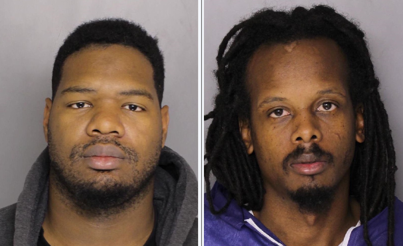 (Left to right) Antonio Larry Jr., Anthony King Jr. (Courtesy: Baltimore County Police Department)<p></p>