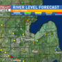 Heavy rain bringing minor flooding risk