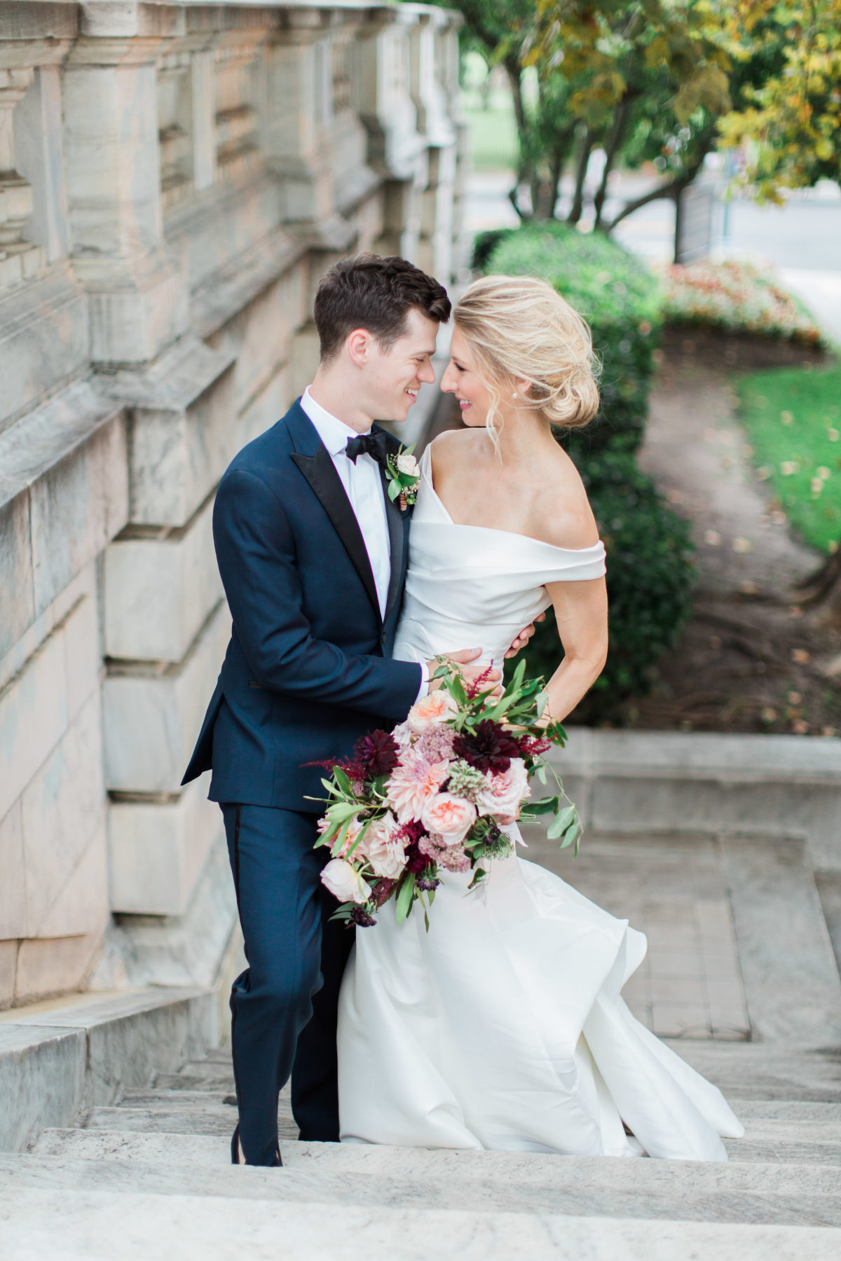 "Of choosing to work with Grit & Grace, Erica says: ""They took my wildest design and décor ideas and ran with them, turning every fantasy in my head into a reality. On my wedding day I didn't have to think of a single thing, besides spending time with my family, friends and new husband."" (Image: Abby Grace Photography/ abbygracephotography.com)"