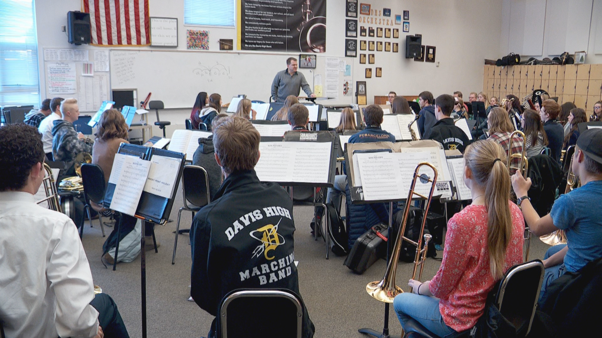 Inside the Story: Davis High's 'band man' will retire after 30 years (Photo: KUTV)