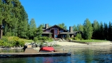Photos: $5.95 million McCall log cabin dazzles on Payette Lake