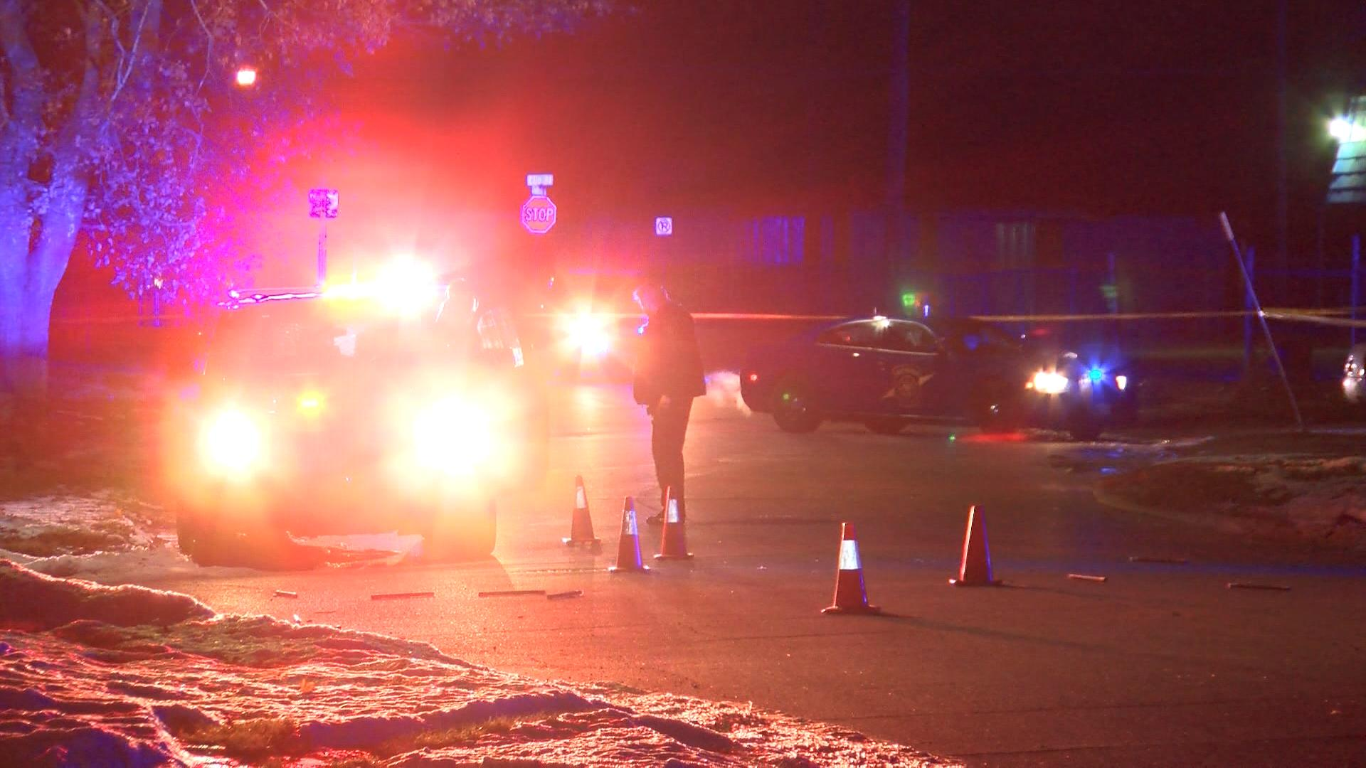 The shooting is on the north end of Flint.{&amp;nbsp;}(Photo credit: Ian Wood, NBC25/FOX66 News) <p></p>