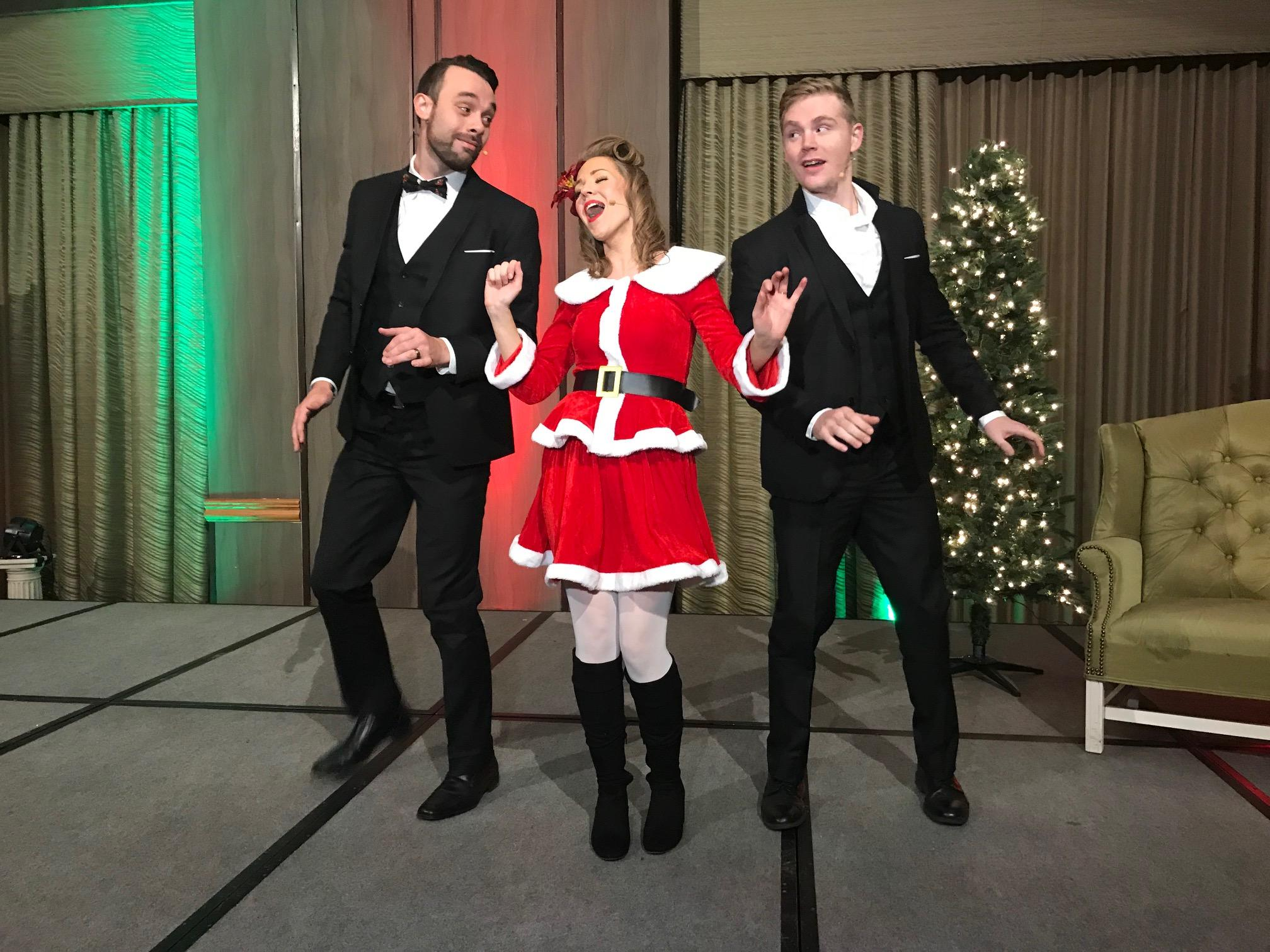 """A Crooner Christmas"" holiday show"