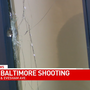 Bullets seen in apartment building after shooting reported on The Alameda