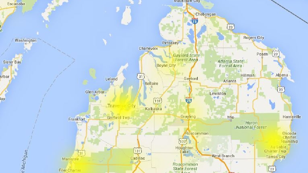 Customers Of Charter Communications Experiencing Outages WPBN - Charter outage map