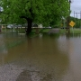 Sand Springs neighborhood flooded from Fisher Creek overflow