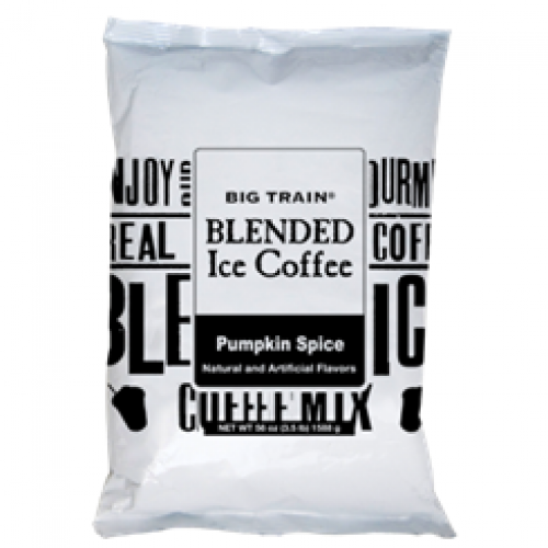 Big Train Pumpkin Spice Blended Iced Coffee Mix, $21 (Image courtesy of Big Train)