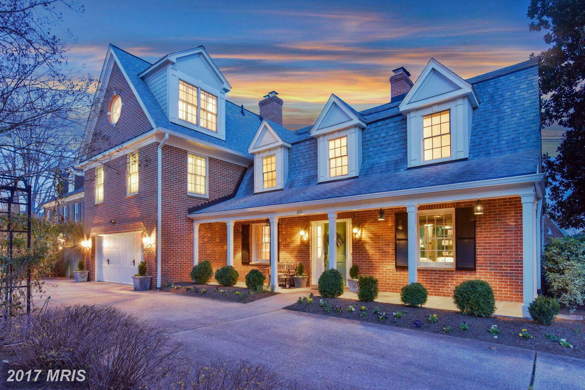 This 5-bedroom/7 bath Colonial in Belle Haven may not be on the market any longer (it sold for $1,975,000 on July 31) but it sure is fun to look at! (Image: Courtesy McEnearney Associates)
