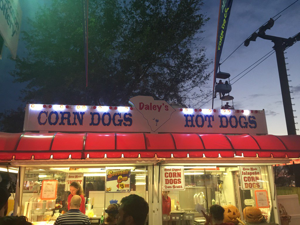 It's Corn Dog time (Dave Williams/WCIV)