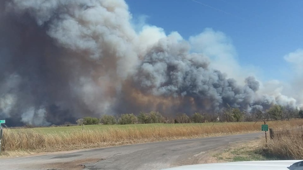 Firefighters still working to make headway on northwest Oklahoma ...
