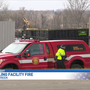 Emergency teams responding to fire, explosion at a Battle Creek recycling company