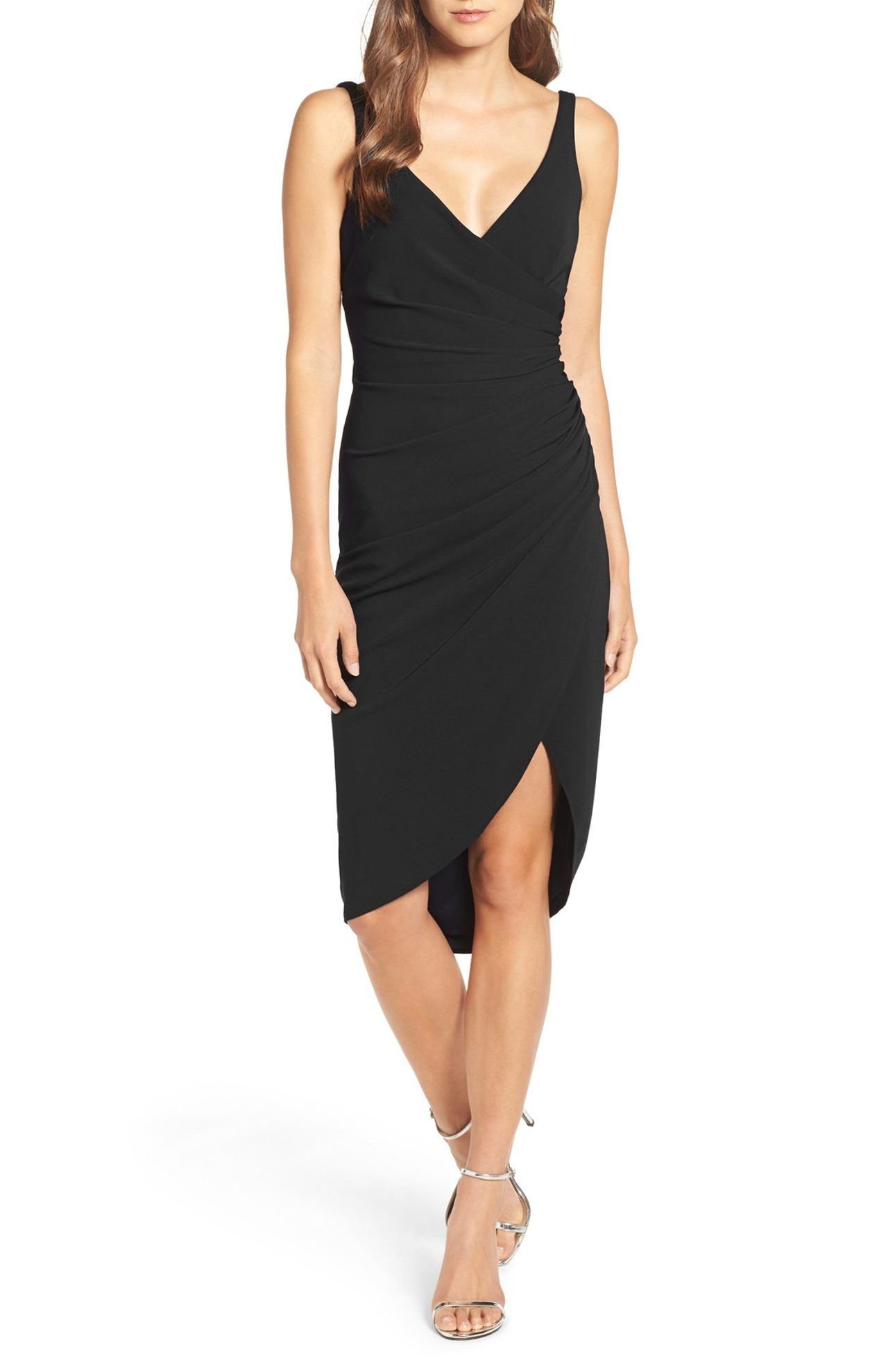 Katie May, Wrap Front Crepe Dress - $260.00. (Image: Nordstrom)