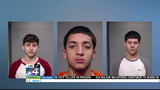Investigators arrest 3 students accused of breaking into high school, stealing police car