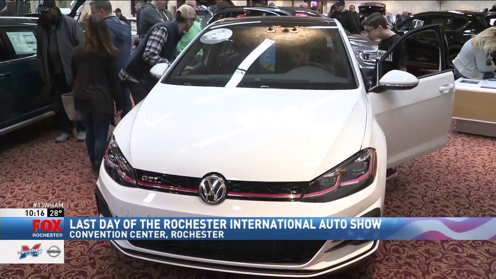 Rochester International Auto Show Wraps Up WHAM - Rochester car show
