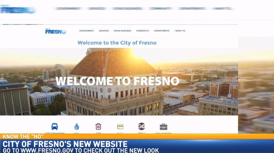 Director of Communications and Public Affairs for the City of Fresno, Mark Standriff, visited Great Day to discuss the city's new website.