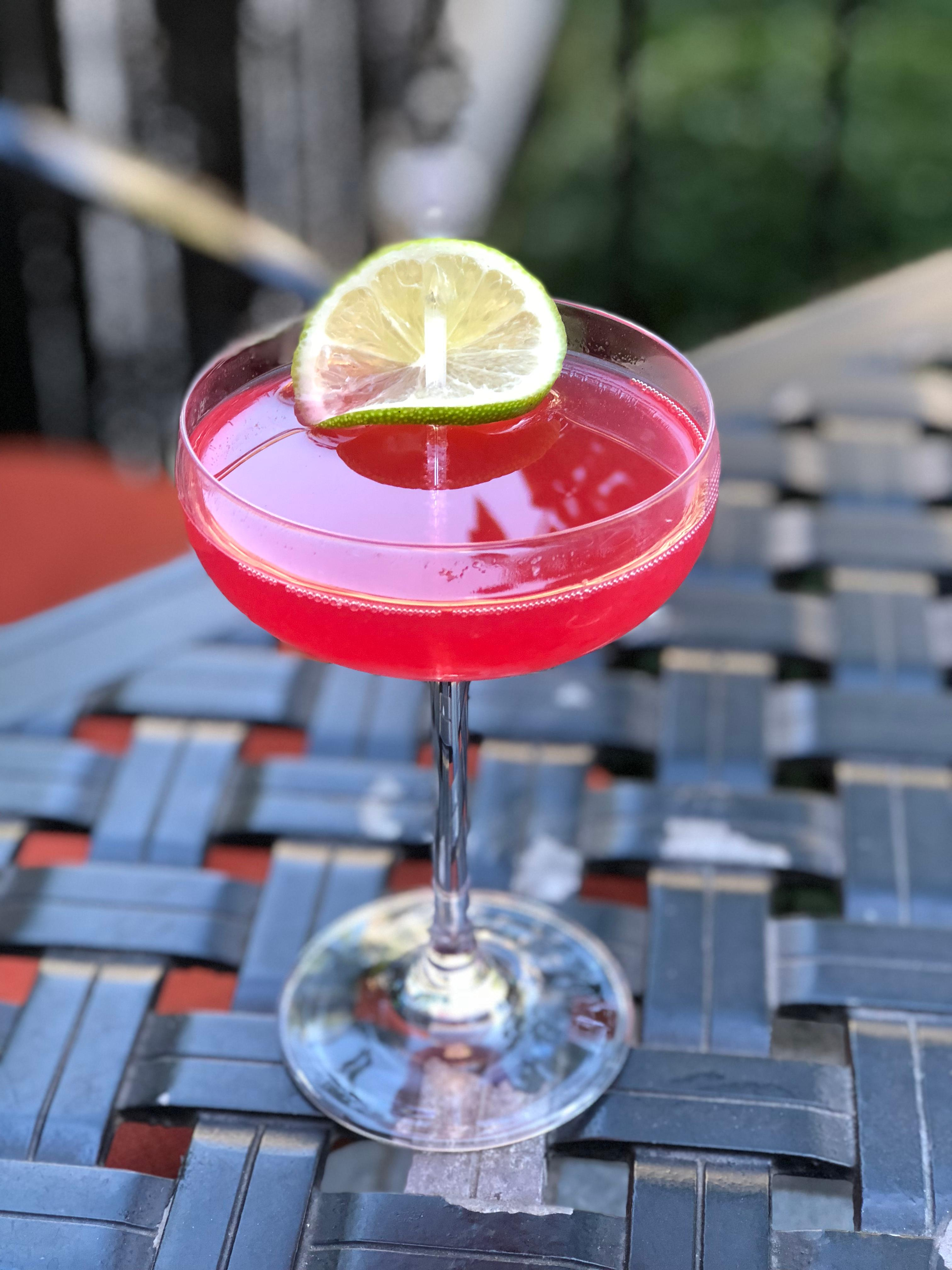 On Wednesday We Wear Pink Mocktail (The Jefferson Hotel)<p></p>