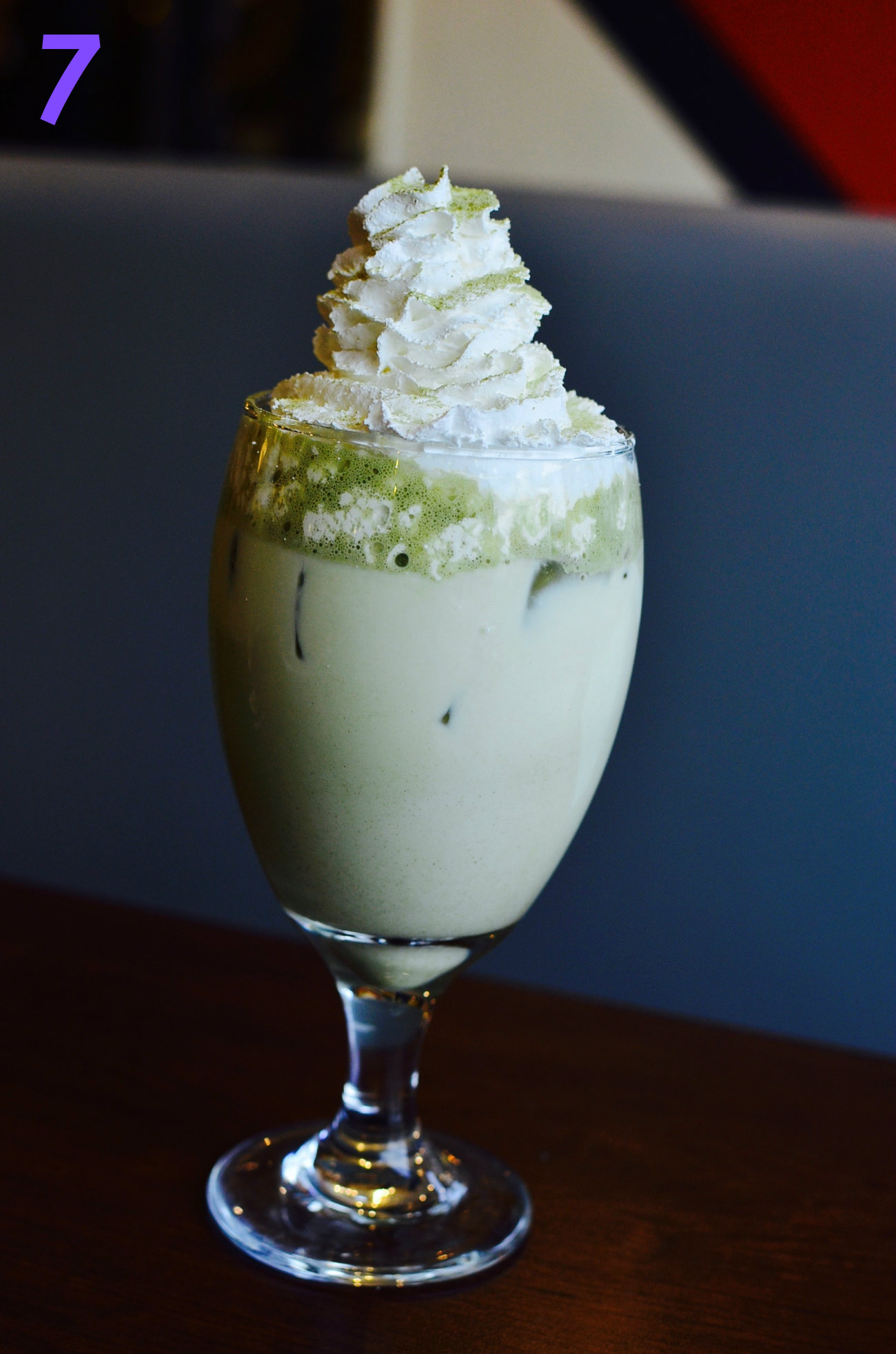 #7 - This delicious looking drink... It's called Milky Matcha (Japanese green tea and creamy milk). You can find it at Neuf Asian Eatery (709 Main St., 45202). / Image: Leah Zipperstein, Cincinnati Refined