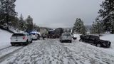 Westbound I-90 at Ellensburg open after closure due to collisions, spin outs