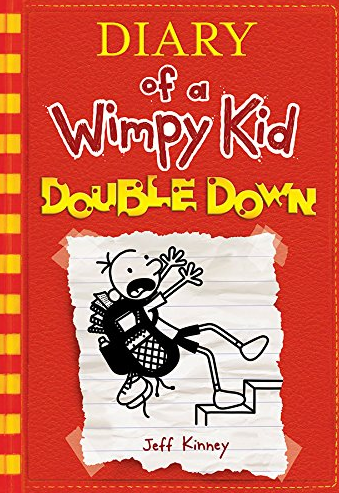 # 10. Diary of a Wimpy Kid # 11: Double Down by Jeff Kinney  Amazon announced the best-selling books of 2016 earlier this week! How many have you read? (Image: Amazon.com)