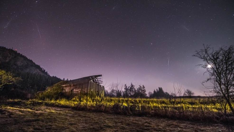 Great timing! Annual Geminid meteor shower set to occur tonight under mostly clear skies